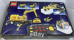 1990 LEGO Technic Control Center 8094 NEW IN OPEN BOX FACTORY SEALED PARTS