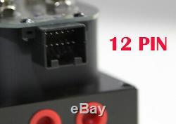 1/4NPT 4Corner Block Manifold Solenoid Valve 300PSI Control Air Bag Suspension