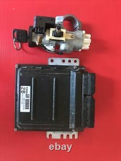2003 Pathfinder QX4 ECU ECM Engine Computer with Key & Immobilizer MEC31-320 C3