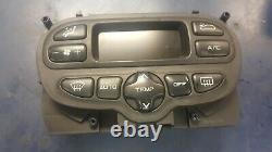 2004 Peugeot 307cc 2.0 Convertible Climate Digital Control Board 96430991xt