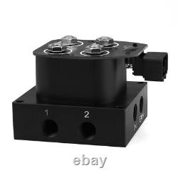 350PSI Air Suspension Solenoid Manifold Valve 2 Corner Manifold Controller