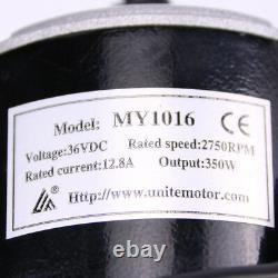 350W 36V kit speed motor control box & Throttle eATV eKart Brushed Motor parts