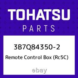 3B7Q84350-2 Tohatsu Remote control box (rc5c) 3B7Q843502, New Genuine OEM Part