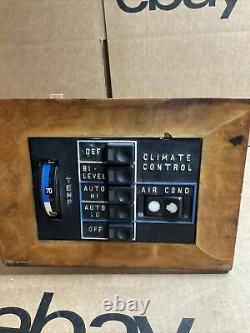 79 80 81 MERCEDES C107 450SL 450SLC FRONT AC CLIMATE CONTROL 1443-501 Parts