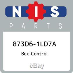 873D6-1LD7A Nissan Box-control 873D61LD7A, New Genuine OEM Part