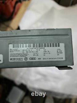 AUDI Q7 4L Sound Control Unit 4E0035541S 2009 11592924