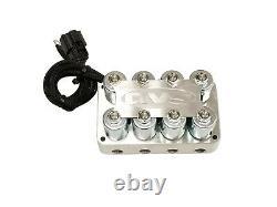 AVS 4-Corner Air Manifold & Billet 7 Switch Box Controller Air Ride Suspension