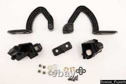 BMW E31 840ci 850i OEM Black Glove Box Door Repair Parts Hinges Arms Control