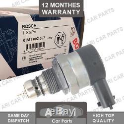 Bosch Fuel Rail Pressure Relief Regulator For Ford Ka, Alfa Romeo Fiat