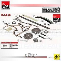 Fai Timing Chain Kit Tck116 Fits Vauxhall Astra Combo Corsa Meriva Tigra 1.4 1.2