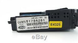 Fiat Grande Punto Bluetooth Hands Free Control Module 51785281 / E4325