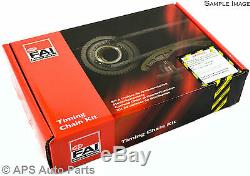 Ford Focus Mondeo Transit Connect 1.8L 2.0L Timing Chain Kit Engine Belt Petrol