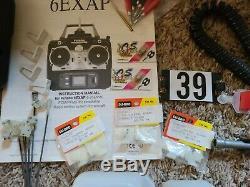Futaba Digital Radio Control Remote Transmitter 6EXAP Flight Box Misc Parts LOT