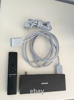 GENUINE SAMSUN One Connect Box, Cables & Remote with Voice Control- UN65MU8000