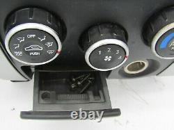 HYUNDAI TUCSON 05 06 07 08 09 BEZEL With CLIMATE CONTROL, CLOCK, VENTS, & ASHTRAY