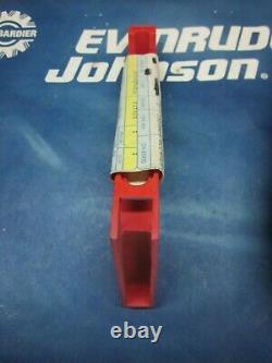 Johnson Evinrude Control Box Handle Slide Lock Lever Rod 126133 New Part Nla