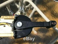 Johnson/Evinrude top mount control box with trim and key switch part # 0176372