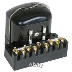 MG TC & TD Voltage regulator Control box 12V 9 terminals 1945-53 Part no 141-900