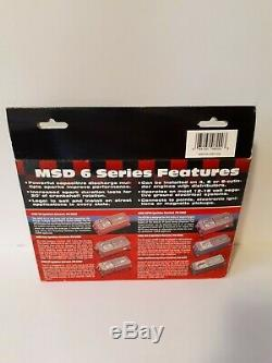 MSD 6A Ignition Control Box, Multiple Spark Discharge, Part # 6200 New Open Box