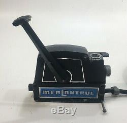 Mercury Outboard MerControl Vintage Remote Control Box Controls PARTS OR REPAIR