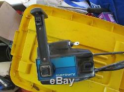 Mercury mariner Outboard part forward REMOTE CONTROL box SIDE MOUNT CABLES 13FT