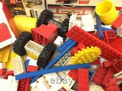 Mixed Lot LEGO 70s Boxes Fork Lift 450 Motorized Remote Control 311 Plane Parts
