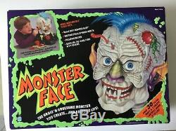 Monster Face Hasbro Gross and Gruesome 30+ Parts + 3 Controls1992 Sealed Box