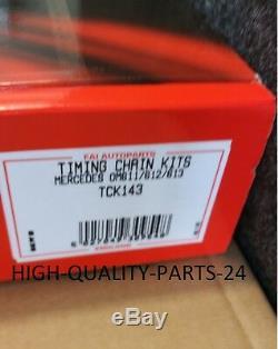 OEM QUALITY ENGINE TIMING CHAIN KIT MERCEDES ML270 C320 V220 2.1 2.2 2.7 3.2 CDi