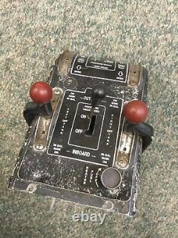 Piper Aztec Fuel System Control Box Assy P/N 31375-02