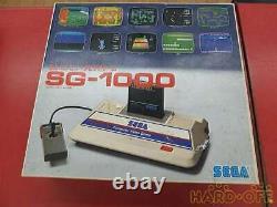 SEGA SG-1000 Game Console Controller Boxed Vintage Junk for Parts