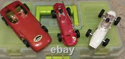 Slot Car Collection 1/24 Scale / Cars + Controllers & Parts / Racing Box / Cox