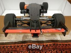 TAMIYA 1/10 R/C F1 Ferrari F2001 4WD F201 with TQ3 controller, box, parts, etc EXC