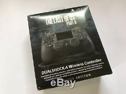 The Last of Us Part 2 PS4 Controller Sealed NEW (box marked) + Firefly Keyring