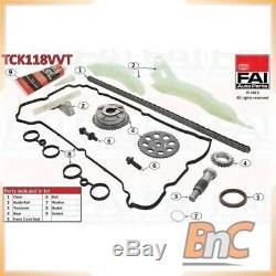 Timing Chain Kit Citroen Mini Peugeot Fai Autoparts Oem 0816h9 Tck118vvt Genuine