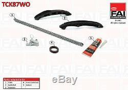 Timing Chain Kit For Volkswagen Golf Jetta Passat 1.4 1.6 FSI TCK87WO