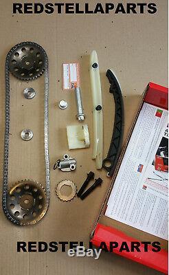 Timing Chain Kit Vauxhall Opel Agila Astra Corsa Meriva 1.0 1.2 1.4 Tck116ng