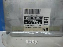 Toyota Corolla Fx16 Gt-s Electric Control Unit 89661-12320 8966112320 1758005041