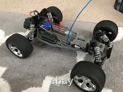 Traxxas Rustler XL-5 RTR -With Box Charger Batteries Remote Control Body & Parts