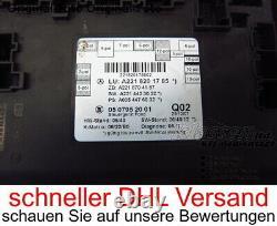 Türsteuergerät hinten Mercedes S-Klasse W221 A2218201785 A2218704187 130120 km