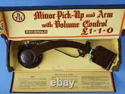 Vintage B. T. H. Gramophone Electric Minor Pick-up & Arm with Volume Control Boxed