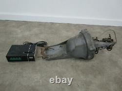 Vintage CDE TRA-4 Antenna Rotator Rotor Ham CB Control Box Parts or repair