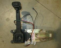 Volvo Penta OEM Morse Style Boat Control Box Parts Handle & Trim Switch