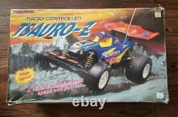 Vtg Radio Shack Tsauro-Z Buggy Off-Road For Parts Or Repair with Controller & Box