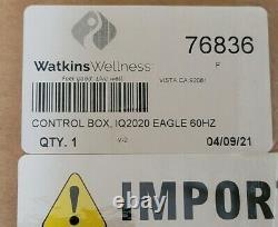 Watkins, Hot Spring Spa IQ-2020 Eagle Control Box 2012-Current Part # 76836