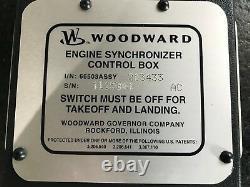 Woodward Prop Synchronizer Control Box I/N 66503 ASSY