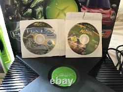 XBOX ORIGINAL WORKING Console With Box Good Conditon Controller & Full Parts